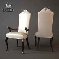 christopher guy armchair 3d model