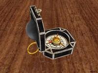 compass jack sparrow 3d model