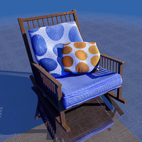 3d home chair model