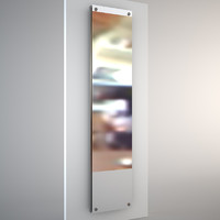mirror heater chrome 3ds