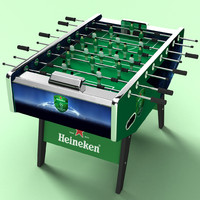 3ds max table football ball