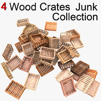 wood wooden crate max