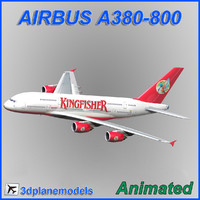 airbus a380-800 3d model