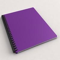 3d folder paper model