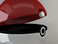 pokemon pokeball 3d model