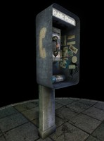 public phone obj