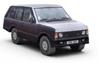 land rover range 1991 3d model