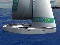 Sailing Boat (Oceanis 46)