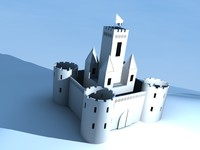 Simple castle