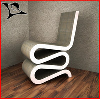 wiggle chair 3d max