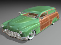 3d model of leadwoody hot rod bbv8