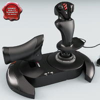 joystick thrustmaster t-flight 3d model