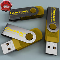 3d kingston flash 4gb