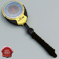 3d pocket fishing barometer altimeter