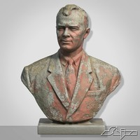 Sculpture 2 Man Bust