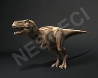 3d trex animation model