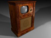 television tv 3d c4d