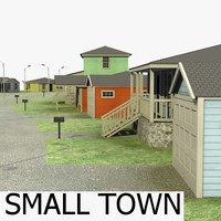3d model home town