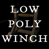 Winch, Low Poly