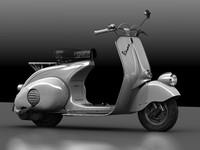 vespa 1946 3d 3ds