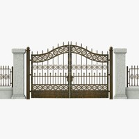 Wrought Iron Gate 07