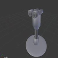 free binoculars 3d model