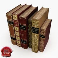 3d model books v5