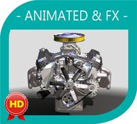 V8 Engine Animated and FX v1.5