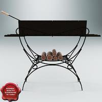 grill v5 3d max
