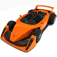 hulme canam supercar car 3ds