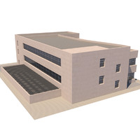 3d multi purpose building model