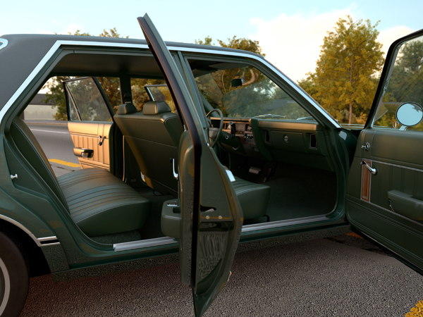 plymouth volare 1976 3d model - Plymouth Volare 1976... by arkviz