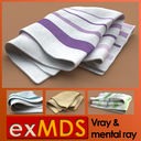 kitchen towel 3D models