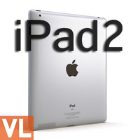 3d model apple ipad2