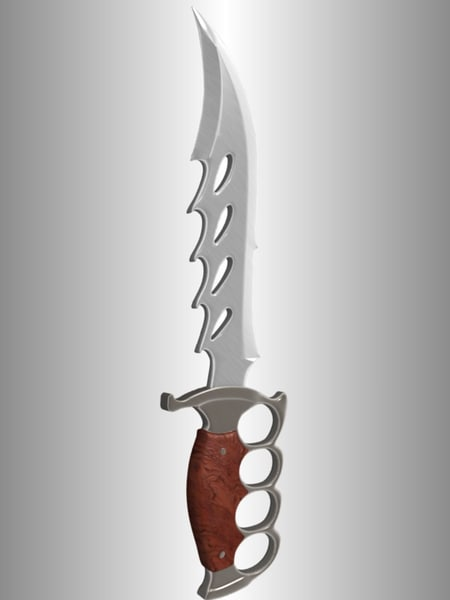 hunting knife 3ds - Hunting Knife... by Agent Zade