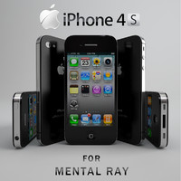 3d iphone 4s mobile phone