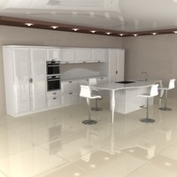 kitchen 3d x