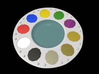 paint tray 3d model