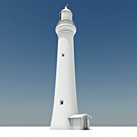 split point lighthouse 3d model