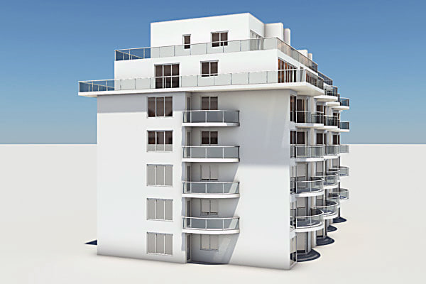 3d residential complex element - Residential Complex Element 05... by Pumper