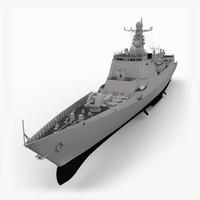 3d model luyang ii
