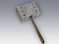 3d model hammer games ready