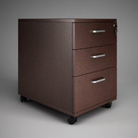 CGAxis Office Cabinet 15