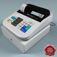cash register v4 3d model