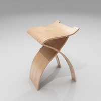 Bar Stool 30 - Flow Stool