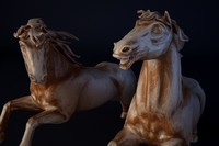 c4d sculpture horse