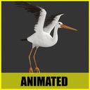 Stork 3D models