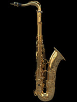 3d saxophone tenor model