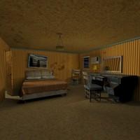 sleazy motel 3d obj
