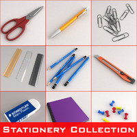 stationery set scissors max